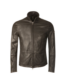 Matchless Mens Black Craig Leather Blouson