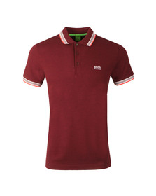 Boss Green Mens Red Paddy Polo Shirt