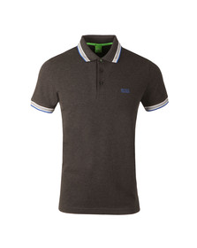 Boss Green Mens Grey Paddy Polo Shirt
