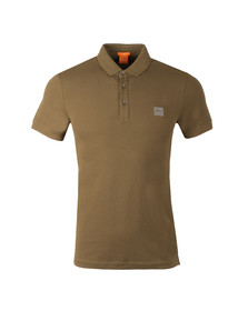 Boss Orange Mens Green Pavlik Polo Shirt