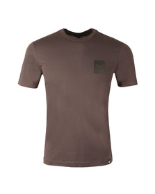 Armani Jeans Mens Grey 6Y6T53 Small Logo T-Shirt