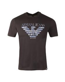 Armani Jeans Mens Blue 6Y6T47 Logo T-Shirt