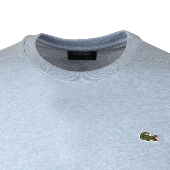 Lacoste Sport Mens Blue TH7618 Plain T-Shirt main image