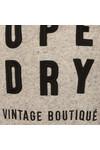 Superdry Womens Grey Applique Funnel Hoody