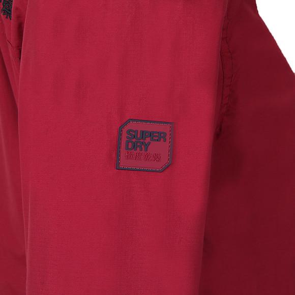 Superdry Womens Red Pop Zip Hood Arctic Windcheater main image