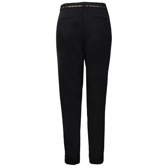 Maison Scotch Womens Blue Stretched Tailored Pant main image