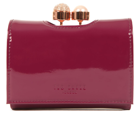 Ted Baker Womens Purple Cattrin Crystal Pearl Bobble Small Purse main image