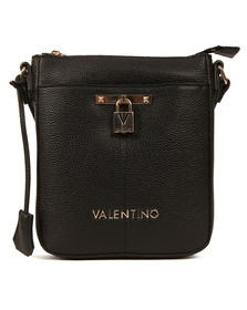 Valentino by Mario Womens Black Currys Cross Bag