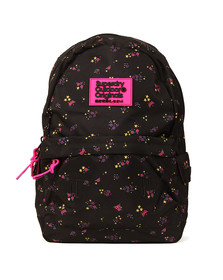 Superdry Womens Black Print Edition Montana Backpack
