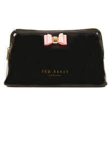 Ted Baker Womens Black Jana Bow Triangle Wash Bag