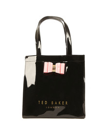Ted Baker Womens Black Jenacon Bow Detail Small Icon Bag