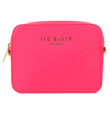 Ted Baker Womens Pink Emilii Statement Letters Xbody Bag
