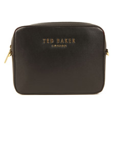 Ted Baker Womens Black Emilii Statement Letters Xbody Bag