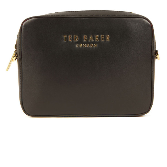 Ted Baker Womens Black Emilii Statement Letters Xbody Bag main image