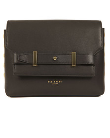 Ted Baker Womens Black Tursi Studded Edge Cross Body Bag