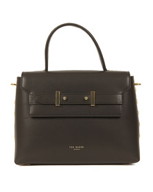 Ted Baker Womens Black Taymar  Studded Edge Lady Bag