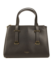Ted Baker Womens Black Ameliee Adjustable Grain Tote