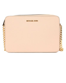 Michael Kors Womens Pink Jet Set Travel Shoulder Bag