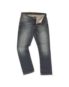 Nudie Jeans Mens Blue Dude Dan Jean
