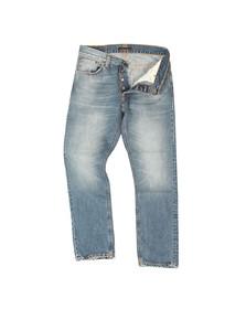 Nudie Jeans Mens Blue Fearless Freddie Jean