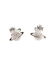Vivienne Westwood Womens Silver Tamia Earrings