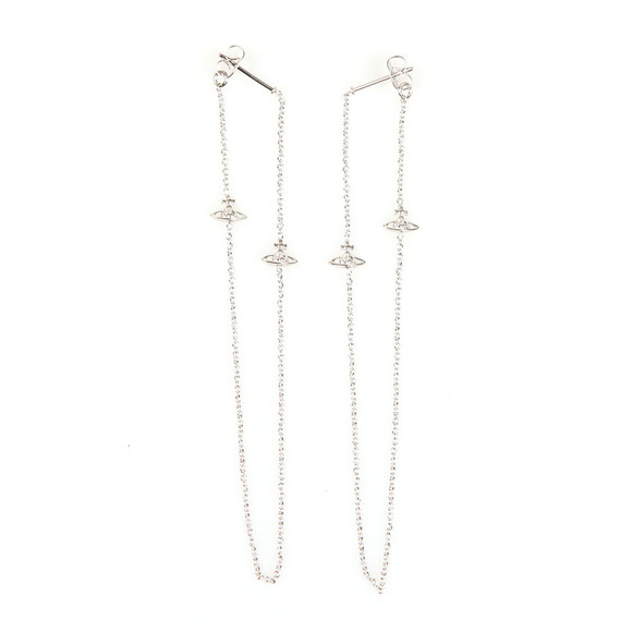 Vivienne Westwood Womens Silver Zia Earrings main image