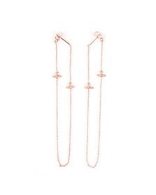 Vivienne Westwood Womens Pink Zia Earrings