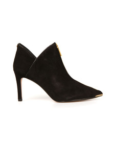 Ted Baker Womens Black Millae Suede Boot