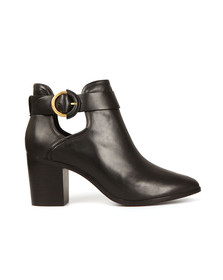 Ted Baker Womens Black Sybell Leather Boots