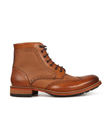 Ted Baker Mens Brown Sealls 3 Brogue Boot