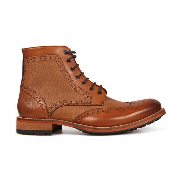 Ted Baker Mens Brown Sealls 3 Brogue Boot main image