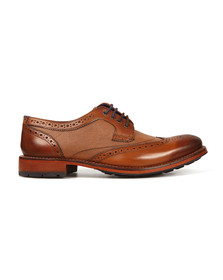 Ted Baker Mens Brown Cassiuss 4 Brogue Shoe