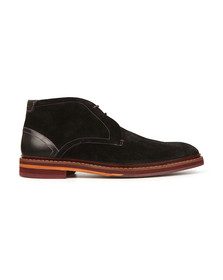 Ted Baker Mens Black Azzlan Suede Boots