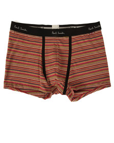 Paul Smith Mens Orange Multi Stripe Trunk