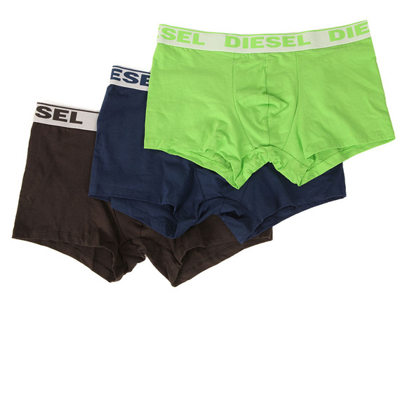 Diesel Mens Multicoloured UMBX Shawn 3 Pack Boxer main image