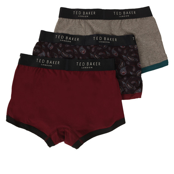 Ted Baker Mens Multicoloured Printed Boxer Shorts Pack main image
