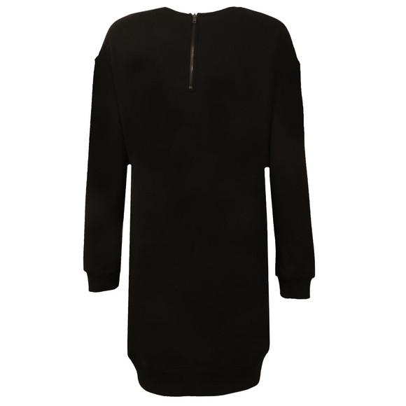 Superdry Womens Black Graphic Sweat Dress main image