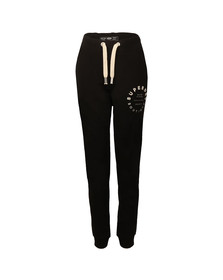 Superdry Womens Black Applique Slim Jogger