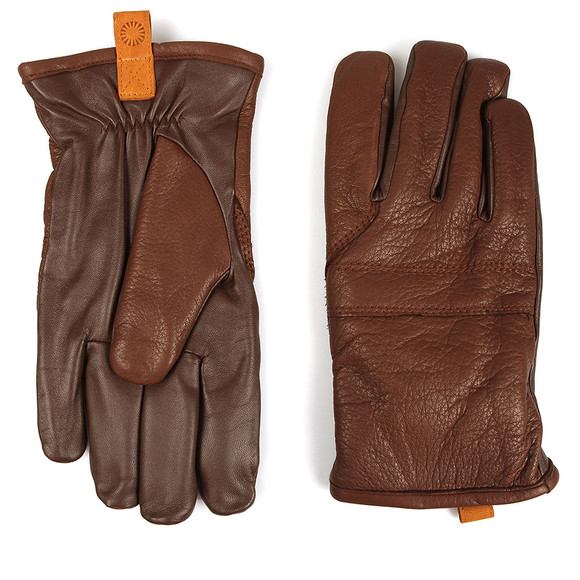 Ugg Mens Brown Casual Leather Glove  main image