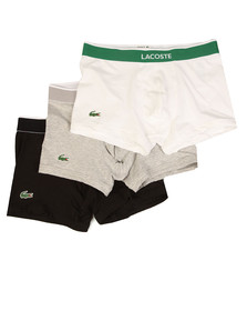 Lacoste Mens Multicoloured 3 Pack Trunks