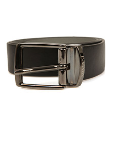 Armani Junior  Boys Black Reversible Leather Belt