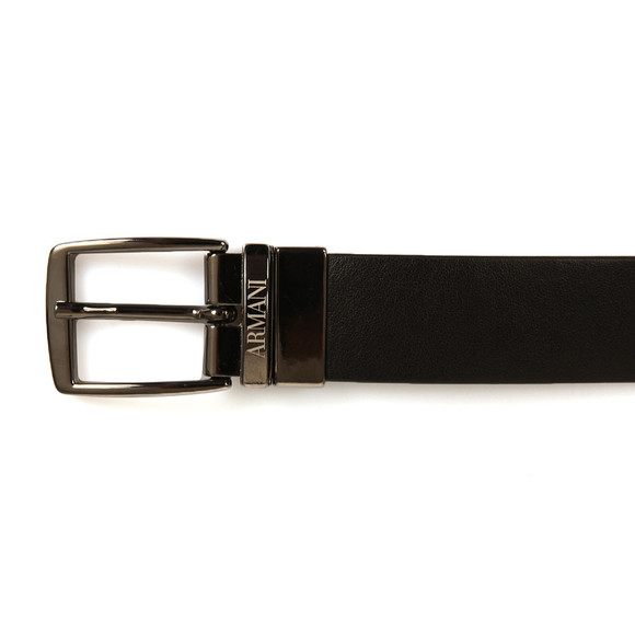 Armani Junior  Boys Black Reversible Leather Belt main image