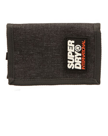 Superdry Mens Grey Pop International Wallet