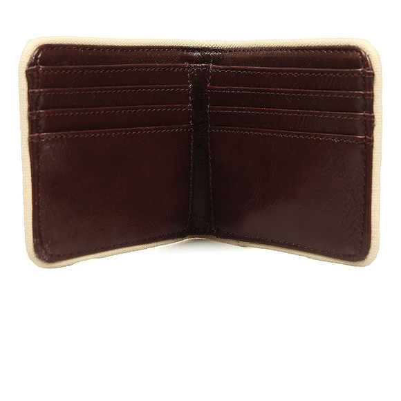 Fred Perry Mens Red Classic Billfold Wallet main image