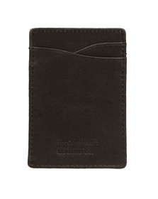 Superdry Mens Black Premium Money Clip Wallet