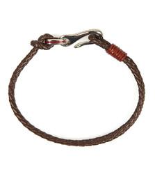 Ted Baker Mens Red Double Strand Bracelet