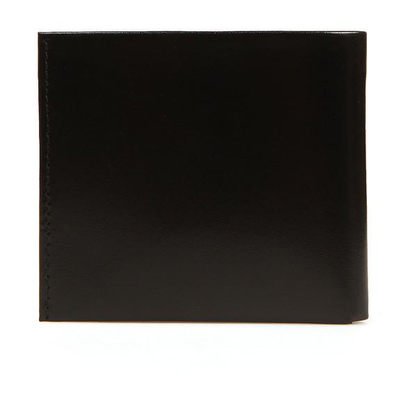 Ted Baker Mens Black Slippin Leather Grain Bifold Wallet main image