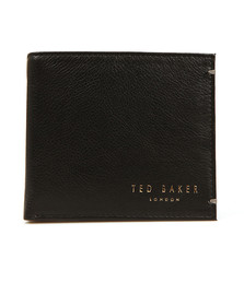 Ted Baker Mens Black Core Bi-fold Leather Wallet