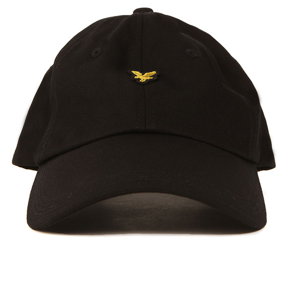Lyle and Scott Mens Black Baseball Cap main image