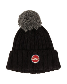 Colmar Mens Blue Bobble Hat